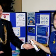 Lord Mayor lends helping hand to infection fight