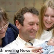 Mother's tribute to life-saving scientists