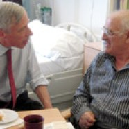 Health Minister celebrates NHS anniversary with patients