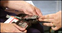 Monitoring blood to meter