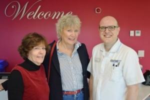 Jenny Tomes, Nanna Lay and Mark Gilham
