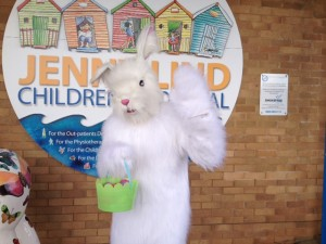 NNUH Easter Bunny