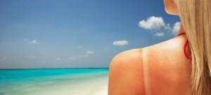 sun bathin