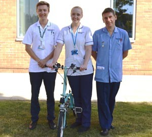 Members of the NNUH Cystic Fibrosis team