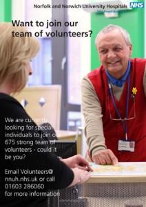 Volunteer recruitment poster 1
