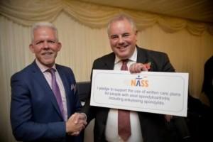 Dr Karl Gaffney and Richard Bacon MP[1]