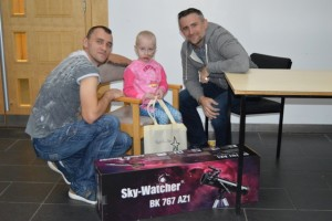 Telescope presentation to NNUH oncology patient