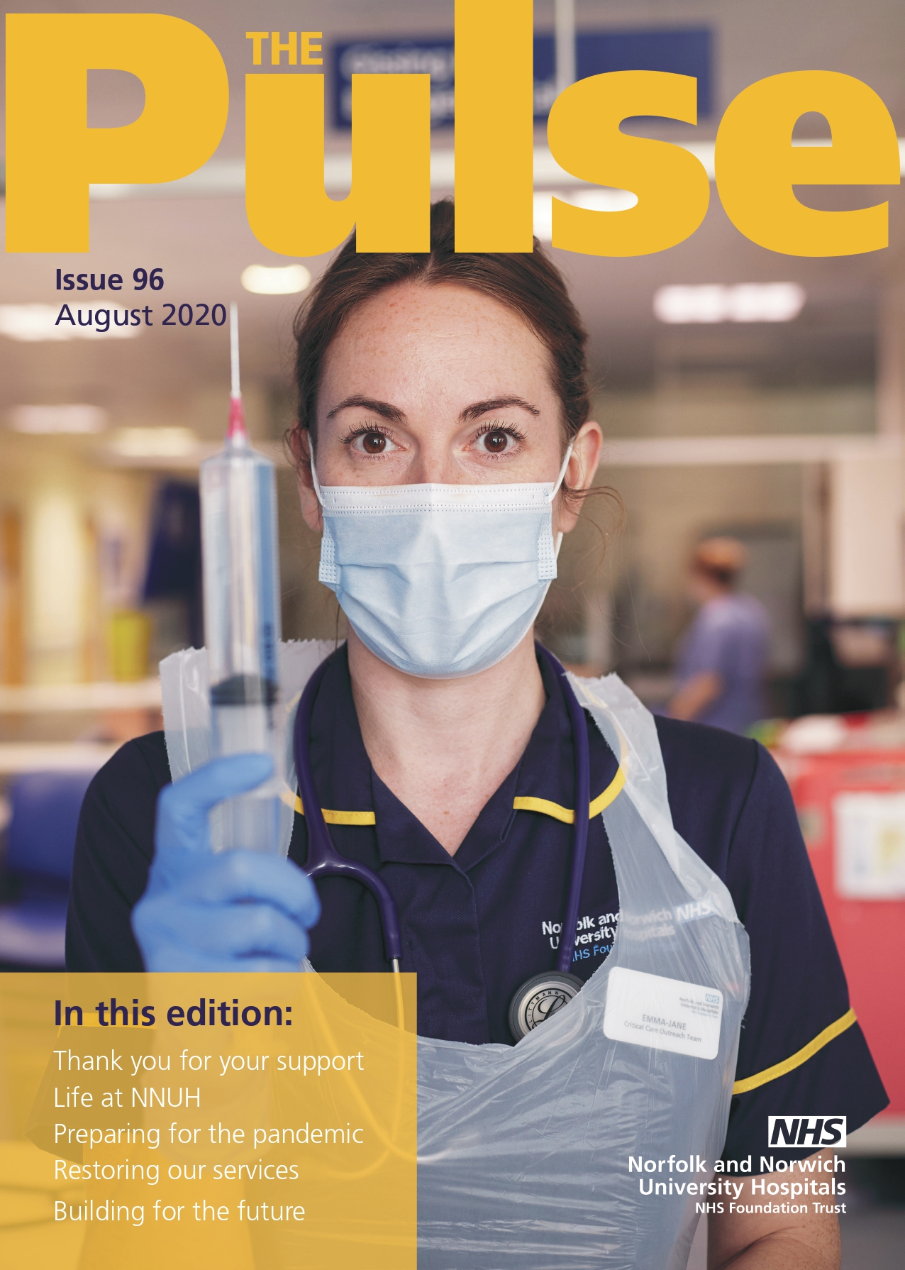 The Pulse August 2020 front cover