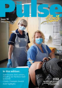 The Pulse Decemeber 2020 front cover