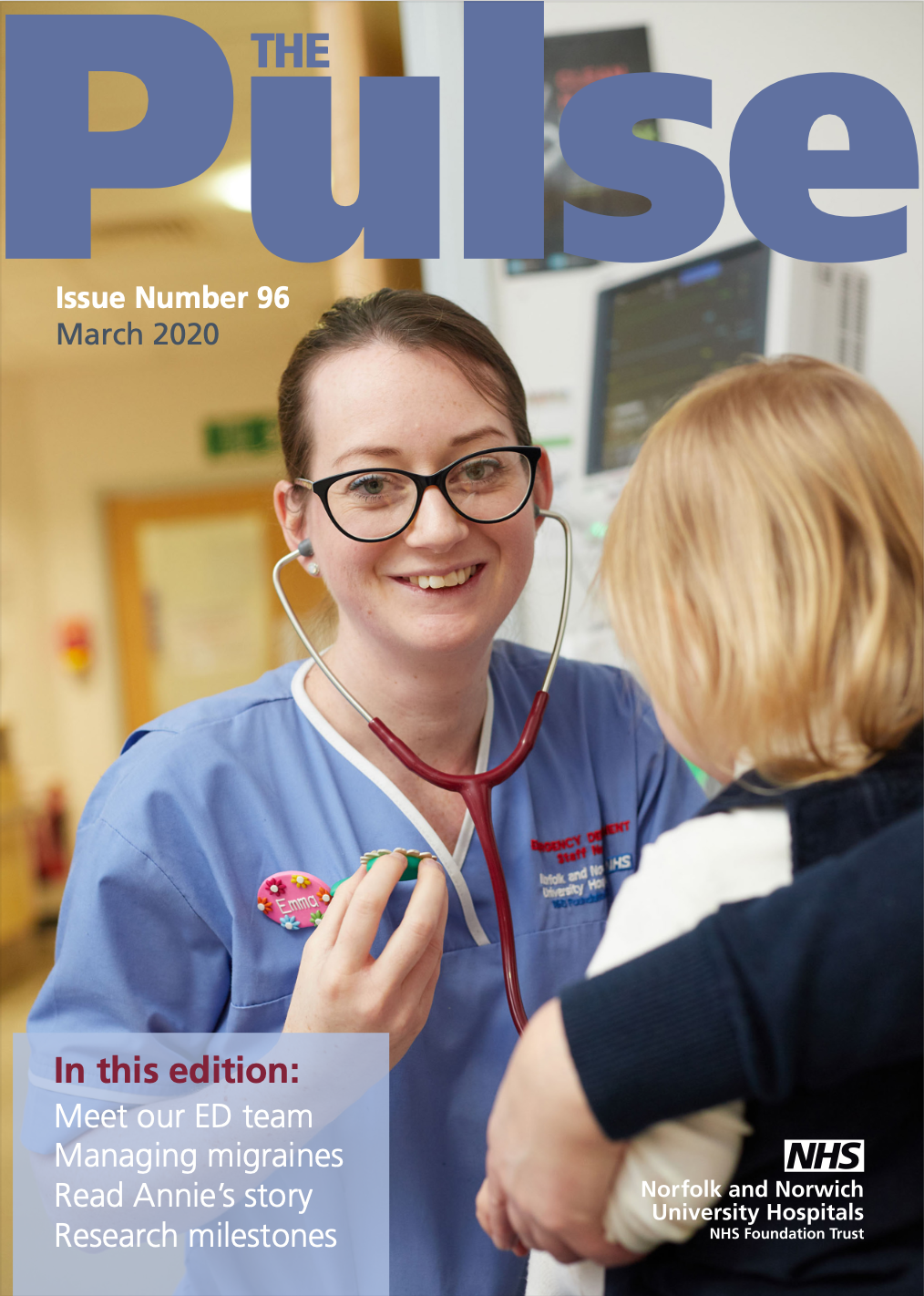 The Pulse March 2020 issue front cover