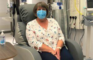 First patient Jane Ducker
